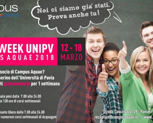 Open week UNIPV