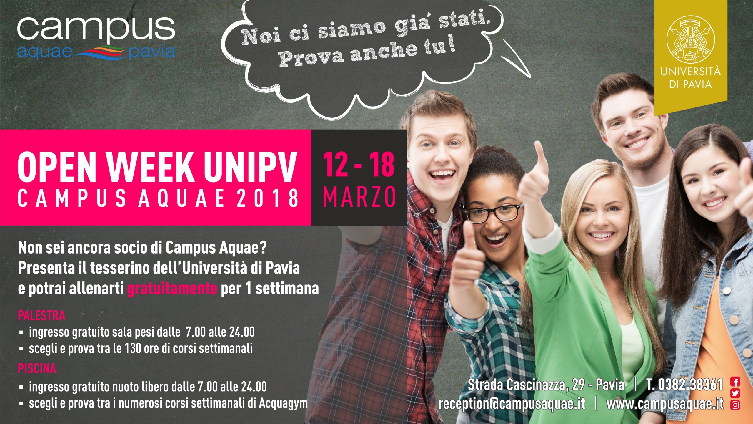 Open week UNIPV
