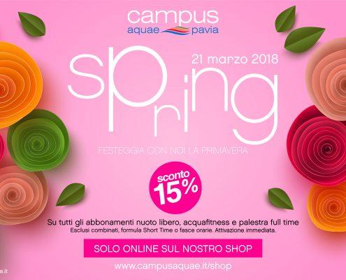 Spring 2018 - Festeggia con noi la primavera